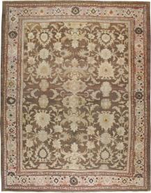 Antique Sultanabad Carpet, No. 13993 - Galerie Shabab