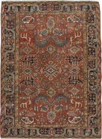 Antique Heriz Carpet, No. 14158 - Galerie Shabab