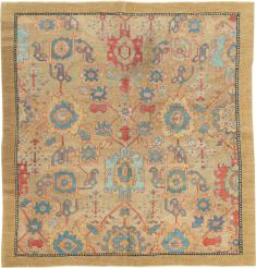 Antique Bakshaish Square Carpet, No. 14580 - Galerie Shabab