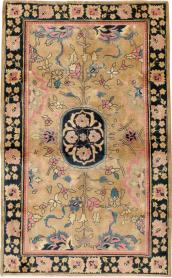 Antique Lahore Rug, No. 14696 - Galerie Shabab