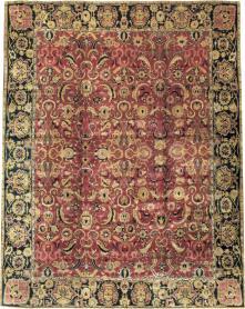Antique Indian Lahore Carpet, No. 14701 - Galerie Shabab