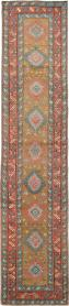 Antique Heriz Runner, No. 14752 - Galerie Shabab