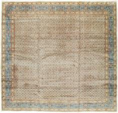 A Mashad Square Carpet, No. 14820 - Galerie Shabab