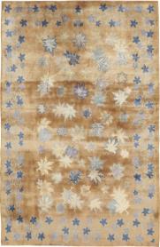 Vintage Mashad Modernist Rug, No. 14821 - Galerie Shabab