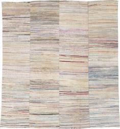 Vintage Rag Rug, No. 14840 - Galerie Shabab