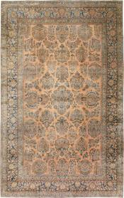 Antique Kashan Carpet, No. 14853 - Galerie Shabab