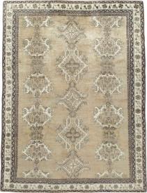Antique Oushak Square Carpet, No. 15174 - Galerie Shabab