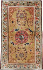 Antique Lahore Rug, No. 15267 - Galerie Shabab