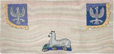 Vintage Hook Rug, No. 15282 - Galerie Shabab