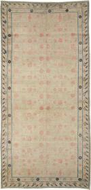 A Distressed Khotan Gallery Carpet, No. 15468 - Galerie Shabab