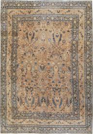 Antique Mashad Carpet, No. 15508 - Galerie Shabab