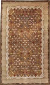 Vintage Leleu Carpet, No. 15527 - Galerie Shabab