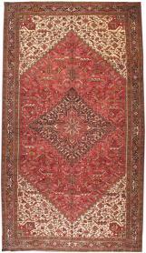 Vintage Heriz Carpet, No. 15530 - Galerie Shabab