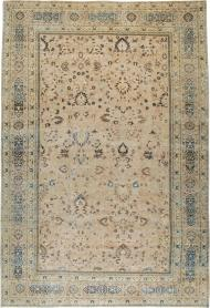 Antique Mashad Carpet, No. 15760 - Galerie Shabab