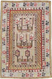 Antique Ghiordes Rug, No. 16107 - Galerie Shabab