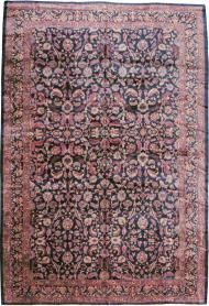 Antique Kashan Carpet, No. 16234 - Galerie Shabab