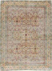 Antique Lavar Kerman Rug, No. 16260 - Galerie Shabab