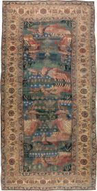 Antique Bidjar Rug, No. 16261 - Galerie Shabab