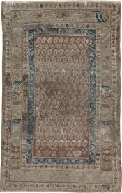 Antique Distressed Malayer Rug, No. 16309 - Galerie Shabab