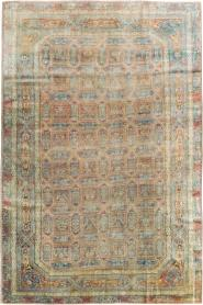 Antique Herekeh Carpet, No. 16393 - Galerie Shabab