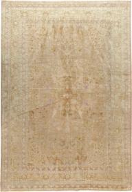 Antique Herekeh Silk Rug, No. 16401 - Galerie Shabab