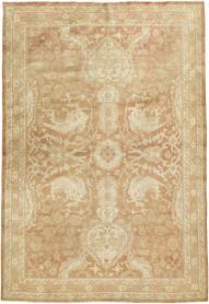Antique Agra Rug, No. 16502 - Galerie Shabab