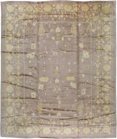 Antique Oushak Rug, No. 16554 - Galerie Shabab