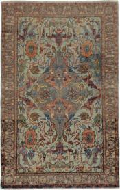 Antique Herekeh Rug, No. 16703 - Galerie Shabab