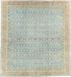 Antique Cotton Agra Carpet, No. 16988 - Galerie Shabab