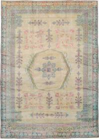 Antique Agra Carpet, No. 17052 - Galerie Shabab