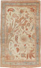 Antique Sultanabad Rug, No. 17055 - Galerie Shabab