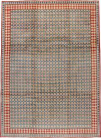 Vintage Mashad Modernist Carpet, No. 17070 - Galerie Shabab