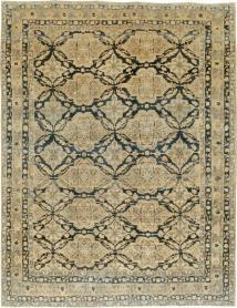 Antique Lavar Kerman Carpet, No. 17360 - Galerie Shabab