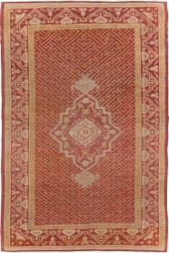Antique Oushak Rug, No. 17396 - Galerie Shabab