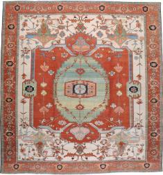 Heriz Square Carpet, No. 17475 - Galerie Shabab