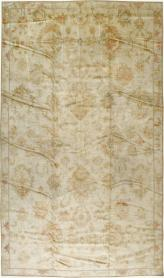 Antique Oushak Carpet, No. 17490 - Galerie Shabab