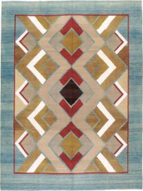 Modernist Tabriz Carpet, No. 17507 - Galerie Shabab