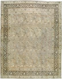 Antique Mashad Carpet, No. 17550 - Galerie Shabab