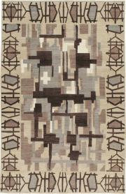 Modernist Tabriz Carpet, No. 17696 - Galerie Shabab