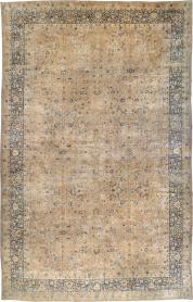 Antique Lavar Kerman Carpet, No. 17728 - Galerie Shabab