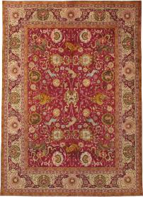 Antique Lahore Carpet, No. 17781 - Galerie Shabab