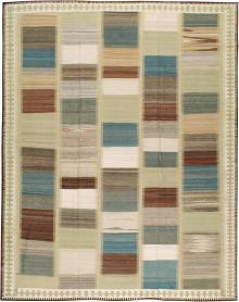 Modernist Kilim, No. 17968 - Galerie Shabab