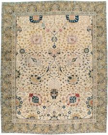 Antique Tabriz Carpet, No. 18022 - Galerie Shabab