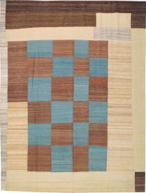Modernist Kilim, No. 18082 - Galerie Shabab
