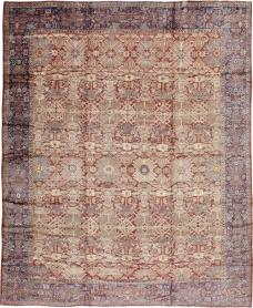 Antique Mahal Carpet, No. 18090 - Galerie Shabab