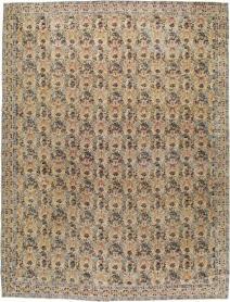 Antique Lavar Kerman Carpet, No. 18137 - Galerie Shabab