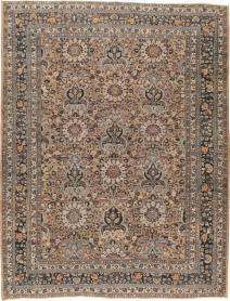 Antique Mashad Carpet, No. 18181 - Galerie Shabab