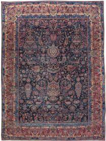 Antique Lavar Kerman Carpet, No. 18202 - Galerie Shabab