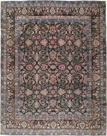 Antique Lavar Kerman Carpet, No. 18208 - Galerie Shabab