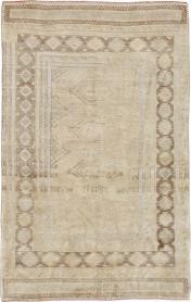Vintage Oushak Rug, No. 18285 - Galerie Shabab